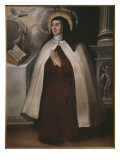 St. Theresa of Avila Giclee Print by  Spanish School