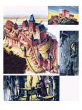 Trifels, the Lionheart's Prison Giclee Print by  Escott