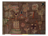 The Gingerbread House, 1925 Impressão giclée por Paul Klee