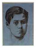 Portrait of a Young Man Giclee Print by Edgar Degas