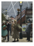 London in the First World War Giclee Print by Ralph Bruce