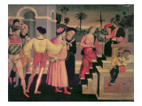 The Judgement of Daniel Giclee Print by Giacomo Pacchiarotti