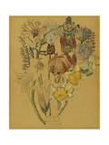 Mont Louis - Flower Study, 1925 Giclée-Druck von Charles Rennie Mackintosh