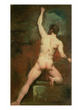 Study for a Male Nude Giclee Print by  Etty