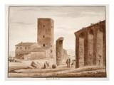 Torre Di Mezza Via, 1833 Giclee Print by Agostino Tofanelli
