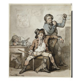 A Brace of Blackguards, 1789 Giclee Print by  Rowlandson