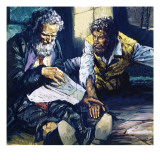 The Count of Monte Cristo Giclee Print by  English School