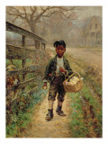 Protecting the Groceries, 1886 Giclee Print by Edward Lamson Henry