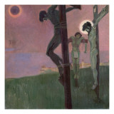 Crucifixion with Darkened Sun Giclee Print by Egon Schiele