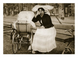Nanny in Germany Giclee Print