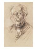 Theodor Fontane, 1896 Giclee Print by Max Liebermann
