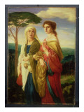 Judith and Her Attendant Giclee Print by Simeon Solomon