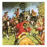 Battle of Culloden Giclee Print by Eric Parker