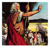 Moses in the Wilderness Giclee Print by McConnell