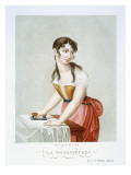 The Ironer, C.1816 Giclee Print by Parfait Augrand