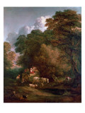 The Market Cart, 1786 Giclee Print by Thomas Gainsborough