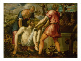 The Entombment of Christ Giclee Print by Jacopo Robusti Tintoretto