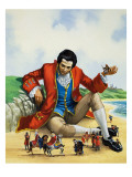 Gulliver&#39;s Travels Giclee Print by Nadir Quinto