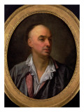 Portrait of Denis Diderot Giclee Print by Jean-Baptiste Greuze