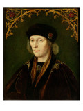 Portrait of Henry Vii Giclee Print by English School