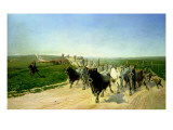 Cattle Herding in Norway Giclee Print by Theodor Esbern Philipsen