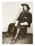George Armstrong Custer Giclee Print by Mathew Brady
