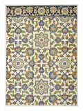 Wall Tiles of Qasr Rodouan Giclee Print by Emile Prisse d'Avennes