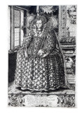 Portrait of Queen Elizabeth I Giclee Print by William Rogers