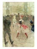 At the Elysee, Montmartre, 1888 Giclee Print by Henri de Toulouse-Lautrec