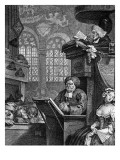 The Sleeping Congregation, 1736 Giclee Print by William Hogarth