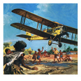 Australian Flying Doctor Giclee Print by  English School