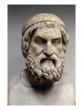 Portrait Bust of Sophocles Giclee Print by  Greek