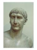 Portrait of Emperor Trajan Giclee Print by  Roman