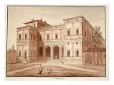 Villa Farnesina, 1833 Giclee Print by Agostino Tofanelli