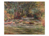 The River Epte at Giverny, 1884 Giclee Print by Claude Monet