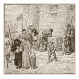 The Stone Corn-Chest at Fecamp Giclee Print by Edouard Zier