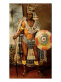 Portrait of Montezuma Ii Giclee Print by European School