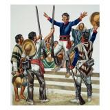 Agustin De Iturbide Giclee Print by Ron Embleton