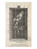 Prisoner in Refractory Cell Giclee Print by  English School