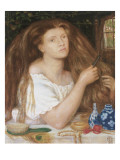 Golden Tresses, 1865 Giclee Print by Dante Gabriel Rossetti