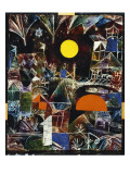 Moonrise - Sunset, 1919 Giclee Print by Paul Klee