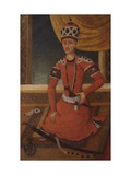 Aga Muhammad Khan Qajar, C.1820 Giclee Print by  Persian School