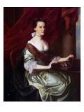 Mrs Theodore Atkinson Jr. Giclee Print by John Singleton Copley
