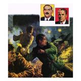Hungarian Revolt, 1956 Giclee Print by Ken Petts