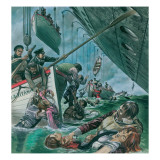 The Sinking of the Titanic Giclee Print by Peter Jackson