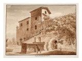 The Tomb of the Scipios, 1833 Giclee Print by Agostino Tofanelli