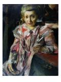 Frau Hedwig Behrend, 1916 Giclee Print by Lovis Corinth