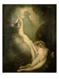 The Creation of Eve Giclee Print by Henry Fuseli
