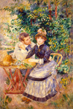 In the Garden, 1885 Premium Giclee Print by Pierre-Auguste Renoir