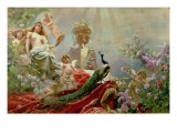 The Toilet of Venus Giclee Print by Konstantin Egorovich Makovsky